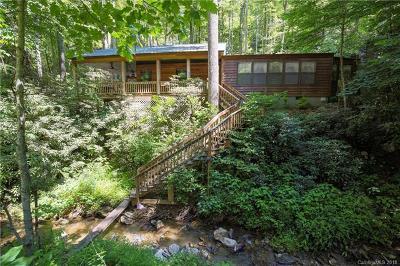Gerton Single Family Home For Sale: 6540 Bearwallow Mountain Road