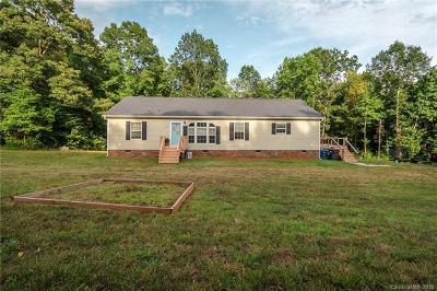 Statesville Single Family Home For Sale: 2401 Island Ford Road #1