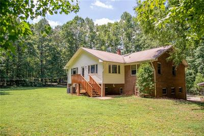 Single Family Home For Sale: 6115 Davis Road