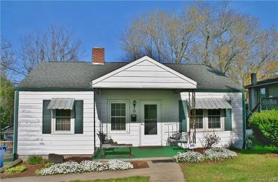 Asheville Single Family Home For Sale: 39 Pine Grove Avenue #A &