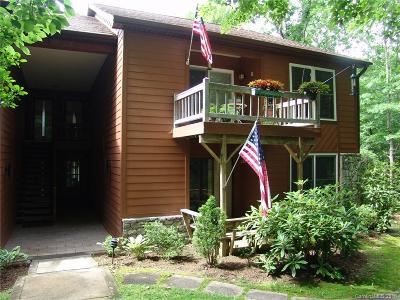 Transylvania County Condo/Townhouse For Sale: 117 Toxaway Views Drive #Unit 202