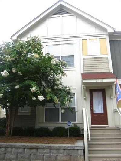 Charlotte NC Condo/Townhouse For Sale: $289,900