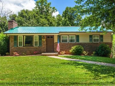 Asheville Single Family Home For Sale: 350 Mills Gap Road #2