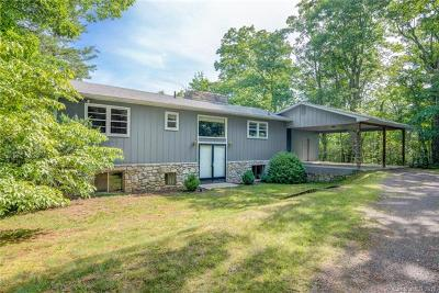Black Mountain Single Family Home For Sale: 316 Allen Mountain Drive