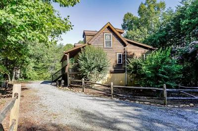 Lake Lure NC Single Family Home For Sale: $258,000