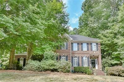 Weddington Single Family Home For Sale: 2014 Brook View Court