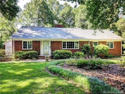 Charlotte Single Family Home For Sale: 1119 Rembrandt Circle
