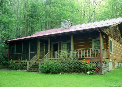 Hot Springs Single Family Home For Sale: 1521 Roaring Fork Road