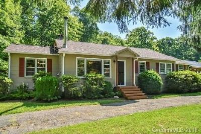 Black Mountain Single Family Home Under Contract-Show: 2057 Nc 9 Highway