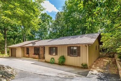 Transylvania County Single Family Home For Sale: 64 Uwohali Court #16/8