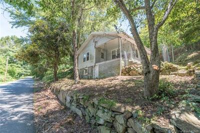 Asheville Single Family Home For Sale: 33 Hemphill Road