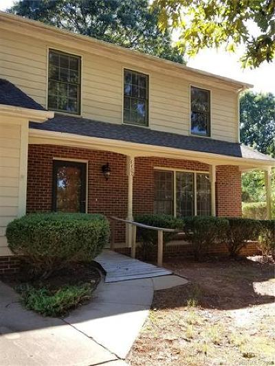 Matthews Single Family Home For Sale: 14400 Buckton Lane #55