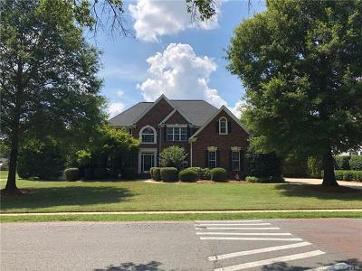 Indian Trail Single Family Home For Sale: 3419 Lake Park Road