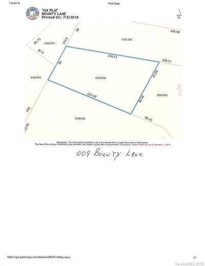 Gastonia Residential Lots & Land For Sale: 009 Bounty Lane #P/2 A