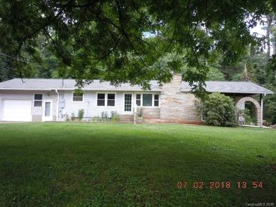 Waynesville Single Family Home For Sale: 58 Merry Hill Lane