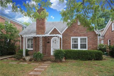 Dilworth Single Family Home For Sale: 1911 Lombardy Circle