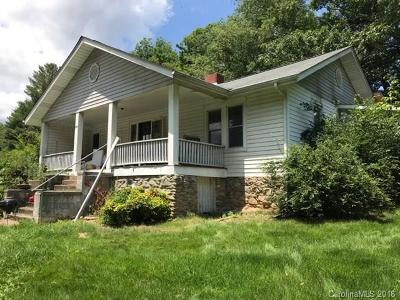 Waynesville Single Family Home For Sale: 204 Green Valley Road
