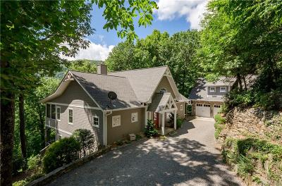 Waynesville Single Family Home Under Contract-Show: 685 Winding Creek Drive