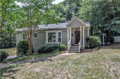 Myers Park Single Family Home For Sale: 3014 Forest Park Drive