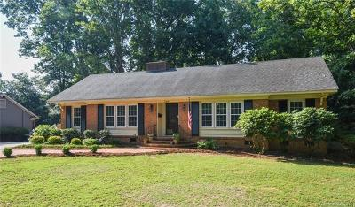 Charlotte Single Family Home For Sale: 3541 Cotillion Avenue
