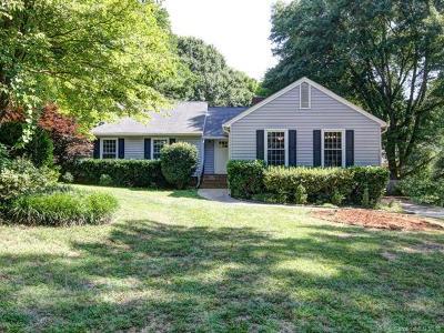Charlotte Single Family Home For Sale: 4921 Pine Ridge Road