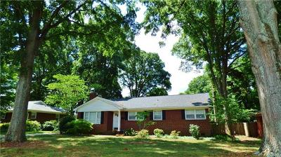 Charlotte Single Family Home For Sale: 1408 Bevis Drive