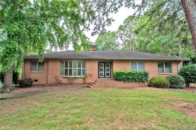 Charlotte Single Family Home Under Contract-Show: 6442 Burlwood Road