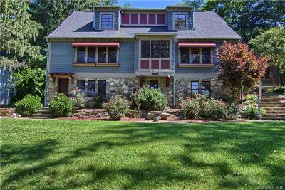 Asheville Single Family Home For Sale: 1201 Merrimon Avenue