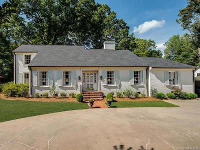 Southpark, Myers Park Single Family Home For Sale: 2018 Sharon Road