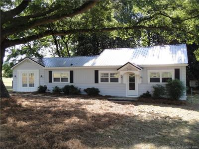 Stanly County Single Family Home For Sale: 749 Love Chapel Road S
