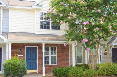 Charlotte NC Condo/Townhouse For Sale: $134,900
