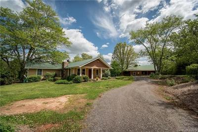 Polk County, Rutherford County Single Family Home For Sale: 435 Landrum Road