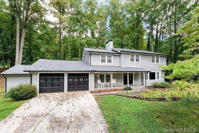 Asheville Single Family Home For Sale: 305 Webb Cove Road