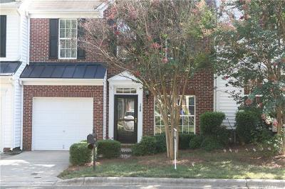 Mooresville Condo/Townhouse For Sale: 108 Kase Court