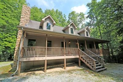 Transylvania County Single Family Home For Sale: 581 Hubbard Hollow Road