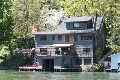 Lake Lure Single Family Home For Sale: 444 Charlotte Drive