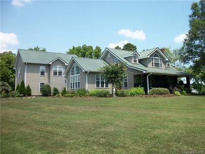 Rowan County Single Family Home For Sale: 1670 Mt. Vernon Road #13.79 AC