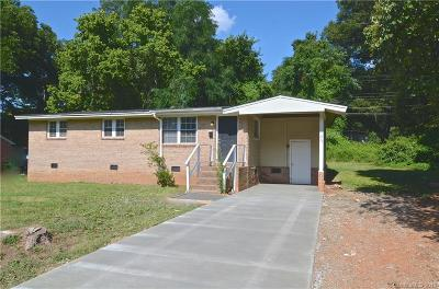 Charlotte NC Single Family Home For Sale: $119,000