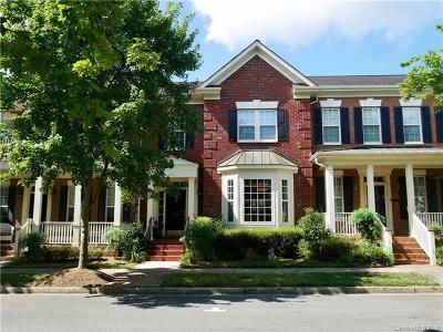 Davidson NC Condo/Townhouse For Sale: $399,000