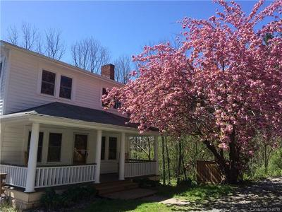 Asheville Single Family Home For Sale: 464 Sand Hill Road