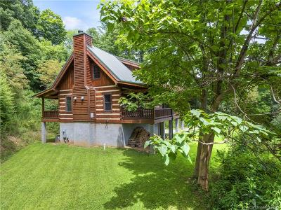 Waynesville Single Family Home Under Contract-Show: 1405 Cathey Cove Road