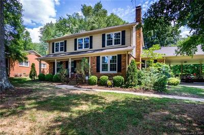 Charlotte Single Family Home For Sale: 614 Nottingham Drive