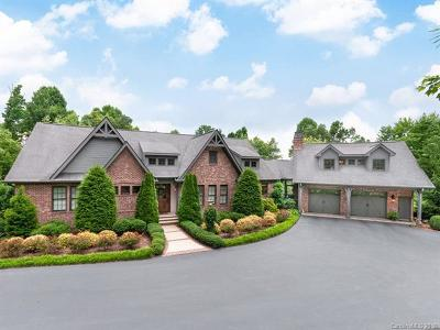 Hendersonville NC Single Family Home For Sale: $1,495,000