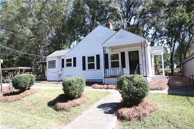Charlotte Single Family Home For Sale: 112 Hugh Caldwell Road
