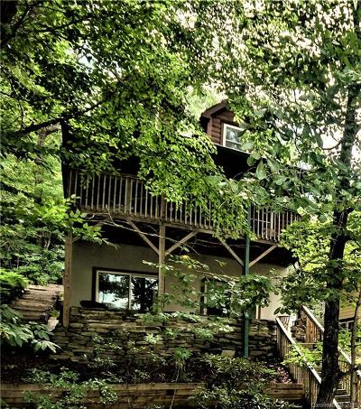 Lake Lure Single Family Home For Sale: 180 Ridge Road