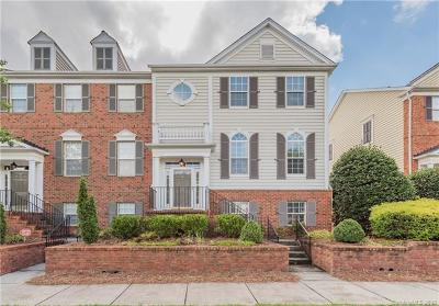Charlotte Condo/Townhouse For Sale: 14025 Labeau Avenue