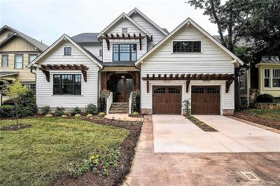 Charlotte NC Single Family Home For Sale: $1,499,900
