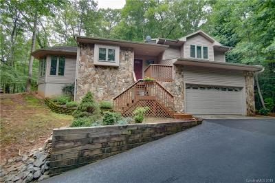Lake Lure Single Family Home For Sale: 221 Flynn Court #130