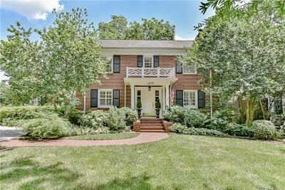 Southpark, Myers Park Single Family Home For Sale: 1423 Queens Road W