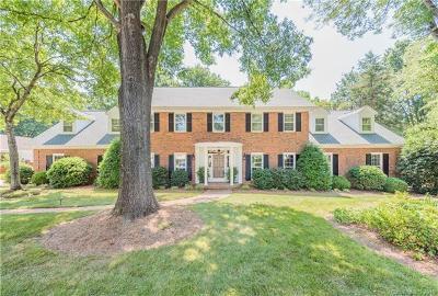 Charlotte Single Family Home For Sale: 7515 Baltusrol Lane